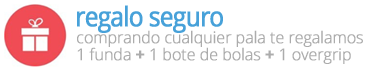 Regalo Seguro con cada Pala en padelmonkey.com